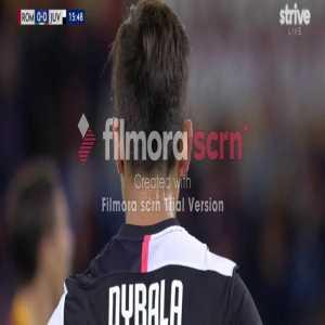 Ronaldo run and pass to Dybala