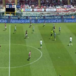 Torino [2]-2 Sassuolo - Simone Zaza 81'