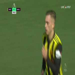 Watford [1]-2 West Ham: Deulofeu
