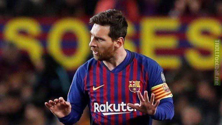 Barcelona's Champions League top scorers since the 2016/17 season:  • MESSI 29   • Own goals 7 • Suarez 5 • Neymar 4  • Turan 4  • Pique 4  • Dembélé 4  • Coutinho 3  • Rakitić 2    KO stages:  Messi 10 - - - - - Own Goals 4 Suarez 3 Neymar, Dembele, Pique, Coutinho 2 Roberto 1