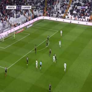 Besiktas 1-0 Alanyaspor - Adem Ljajic 11'