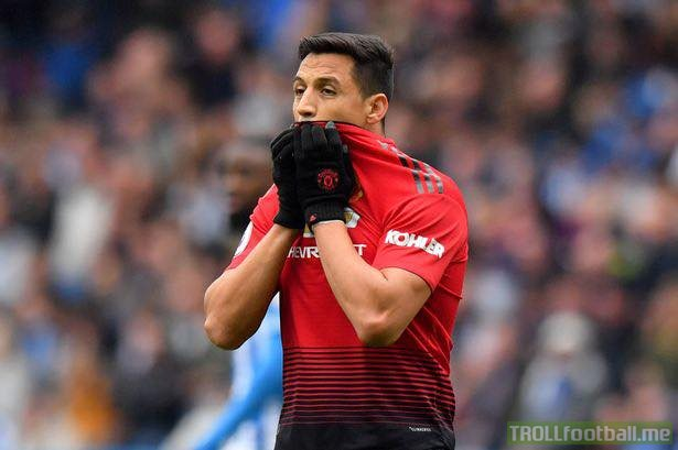 Goals at Old Trafford this season..  Alexis Sanchez: 1️  Nathaniel Mendez-Laing: 2️