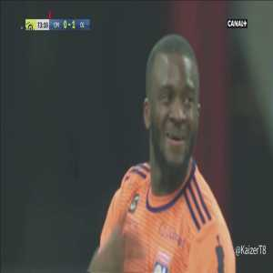Tanguy Ndombélé's (Olympique Lyonnais) game by numbers vs Marseille:100% tackles won, 35/39 90% passes completed, 5 ball recoveries, 4/4 take-ons, 2 interceptions, 1 assist. (link leads to a video compilation)
