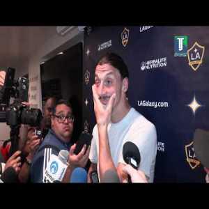 """""""We miss Jonathan dos Santos, he is the engine of our team"""": Zlatan Ibrahimović"""