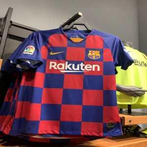 FC Barcelona's home kit for next season
