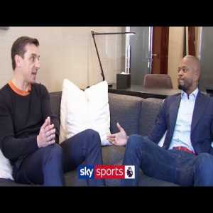"""Patrice Evra & Gary Neville openly discuss the state of Manchester United & the future of Paul Pogba"""