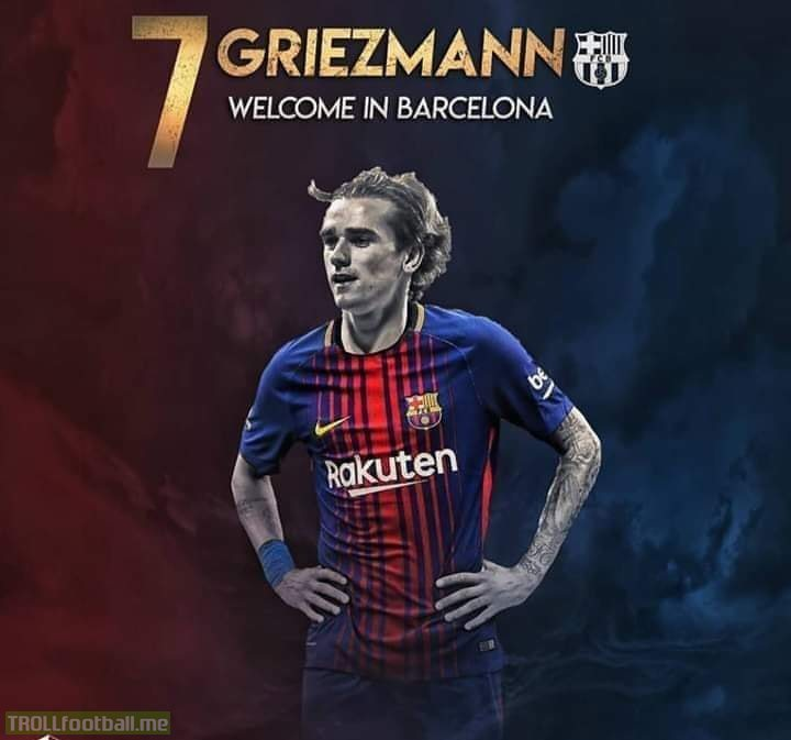 Welcome To The Greatest Club In The World, Antoine Griezmann.🙌🔥