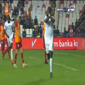 Akhisarspor 1-0 Galatasaray - Elvis Manu 56'