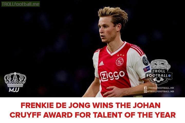 "Congratulations Frenkie De Jong: ""Future Of Barca and Football""!♥️🔥"