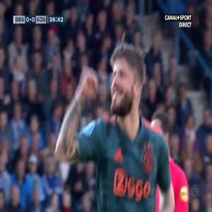 De Graafschap 0-1 Ajax - Lasse Schone free-kick 37'
