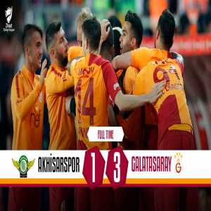 Galatasaray have won the Turkish Cup, beating Akhisarspor 3-1