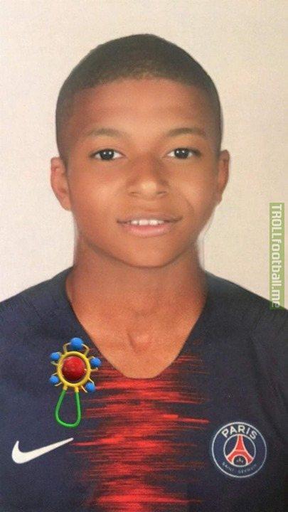 Kylian Mbappé In Childhood...   He was a PSG Fan From Childhood.😱🔥