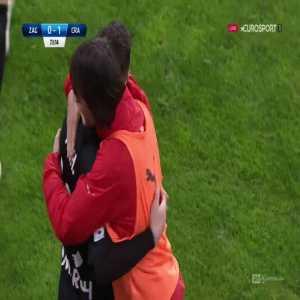 Zagłębie Lubin 0-[1] Cracovia - Javi Hernández 73' (Polish Ekstraklasa)
