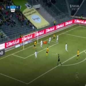 BSC Young Boys [1]-0 Grasshoppers — Roger Assalé 23'