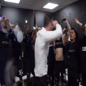 """Derby County dressing room sings """"Stop Crying Frank Lampard"""""""