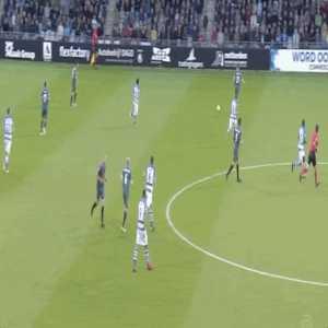 Frenkie De Jong's dribbling vs De Graafschap.