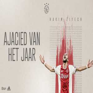Hakim Ziyech named Ajax's player of the season. Noussair Mazraoui named talent of the season.