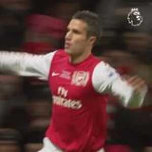Just another Robin van Persie volley 🚀  GoalOfTheDay