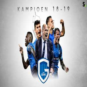 KRC Genk are Belgian champions for the 4th time in their history!