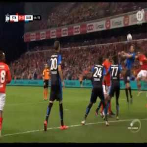 Standard Liège 1-0 Club Brugge - Razvan Marin penalty 68'
