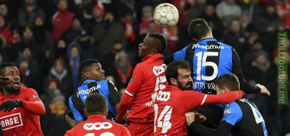 Tonight's match between Belgian rivals Standard de liège and Club Brugge will host delegates and scouts from Manchester United, Arsenal, Ajax, Bournemouth, Crystal Palace, Eintracht Frankfurt and others