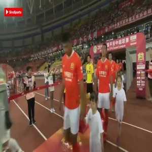 Paulinho (Guangzhou Evergrande) goal vs Wuhan Zall