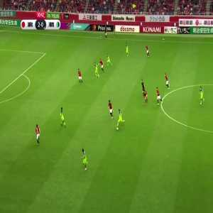 Play goes on despite a clear goal - bizarre (non-)call by referee in J-League match between Urawa Red Diamonds and Shonan Bellmare