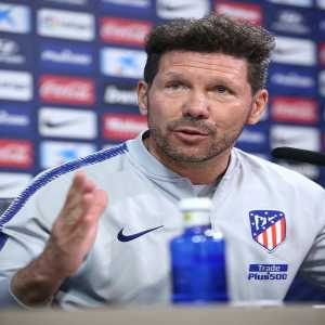 """Simeone - """"Important players leave, but I have no doubt that people such as Rodrigo, Saúl, Giménez, Koke, Oblak will fill that void. We have to keep calm."""""""