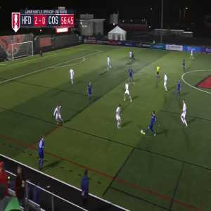 """[U.S. Open Cup on Twitter] """"After much mulling, the Goal of the 2nd Round goes to @NYCosmos' Bljedi Bardic & his screamer against @hfdathletic 🚀⤵️ #USOC2019"""""""