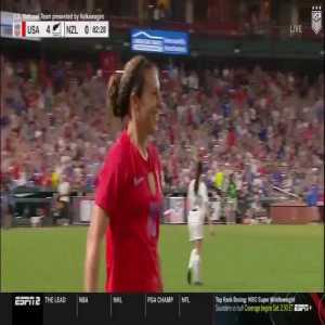 USA W 4-0 New Zealand W - Carli Lloyd 83'