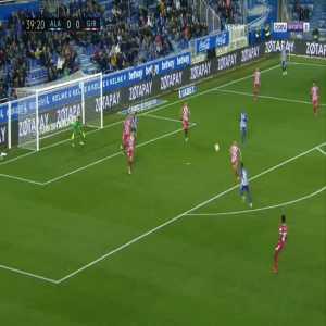 Alaves 1-0 Girona - Mubarak Wakaso 40'
