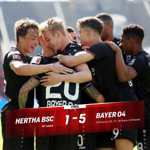 Bayer 04 Leverkusen have qualified for the 2019/20 UEFA Champions League