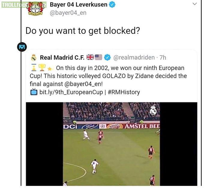 Bayer Leverkusen are not playing around 😂