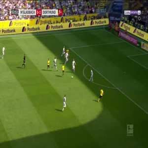 Borussia Mönchengladbach 0-2 Borussia Dortmund - M. Reus 54'