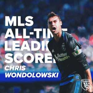 Chris Wondolowski breaks all-time MLS goalscoring record (146 goals in 338 appearances)