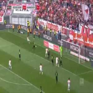 Dusseldorf 2-0 Hannover - Kenan Karaman 61'