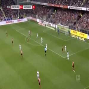 Freiburg 2-0 Nurnberg - Gian-Luca Waldschmidt 34'