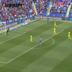 Getafe 1-0 Villarreal - Francisco Portillo 13'