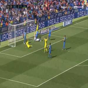 Getafe 2-[2] Villarreal - Gerard Moreno 87'