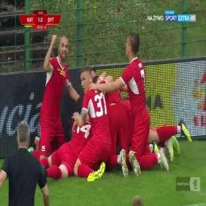 GKS Katowice 1-[2] Bytovia Bytów - Andrzej Witan (GK) 90+7' (Polish 2nd tier)