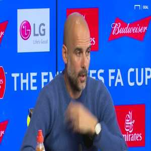 """Guardiola was quite open on his record in the Champions League in recent years. Points out how hard it is to win it but actually admits """"As a manager I'm not good enough at this club to maintain (the level from Barca and Bayern)"""""""