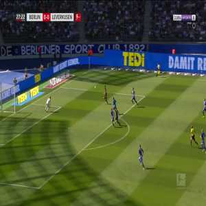 Hertha BSC 0-1 Bayer Leverkusen - Havertz 28'