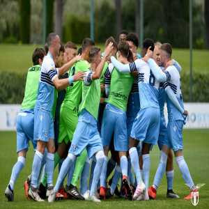Lazio U19s have won the Primavera 2 play-offs and are promoted back to the first division (Primavera 1)