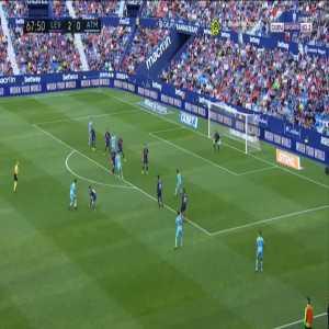 Levante 2-[1] Atlético Madrid - Rodrigo 68'