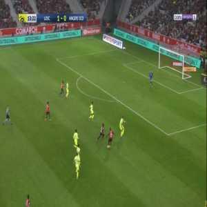 Lille 2-0 Angers - Nicolas Pepe 14'