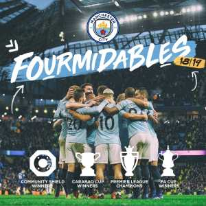 Manchester City claim they have won the quadruple, counting the Community Shield as a trophy