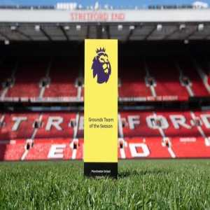 Manchester United have been awarded the Premier League pitch of the year