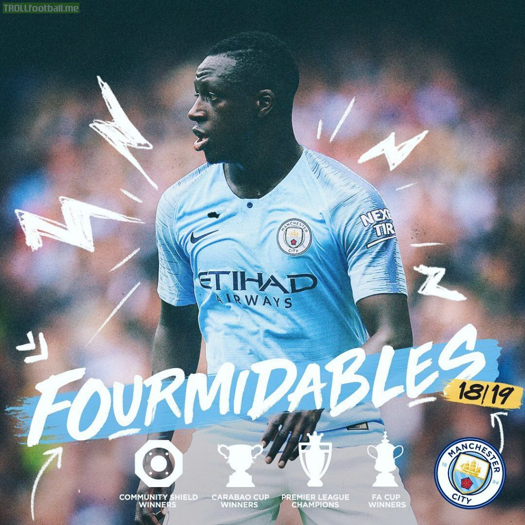 Stat: Mendy has 4 trophies from 15 appearances this season. 1 every 3.75 games, GOAT.