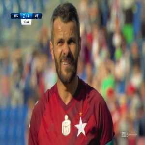 Wisła Kraków [3]-4 Miedź Legnica - Paweł Brożek 78' penalty (Polish Ekstraklasa)