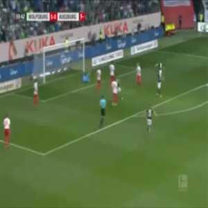Wolfsburg 6-0 Augsburg - Elvis Rexhbecaj 60'